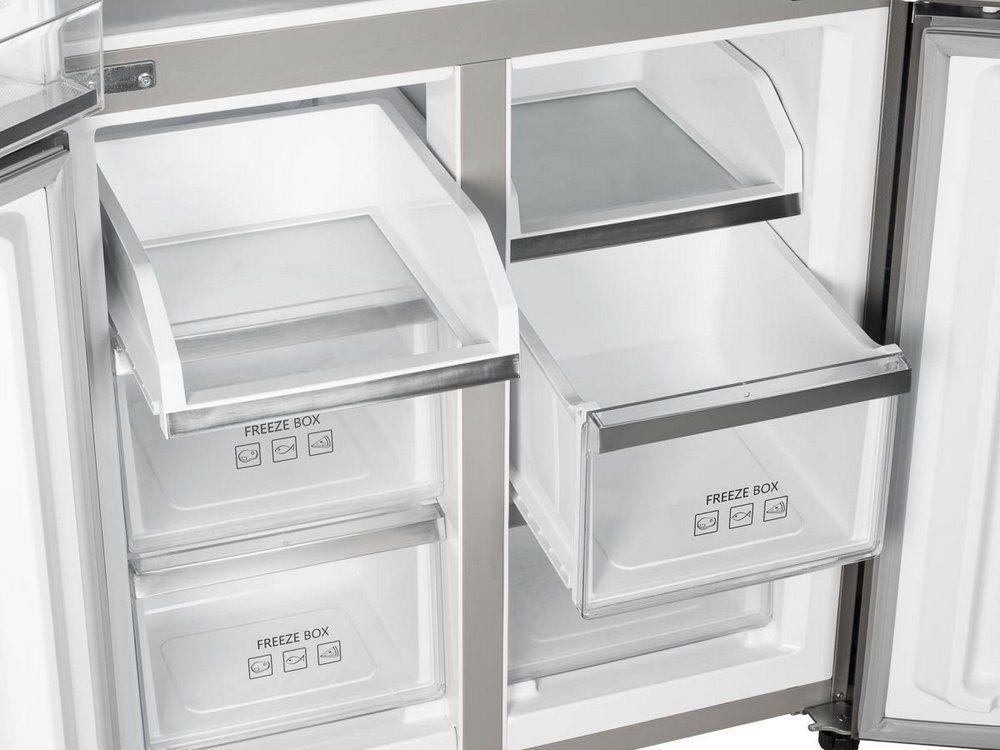 Americká chladnička Concept LA8783WH – mraziaci priestor