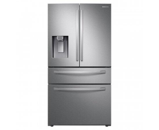 Americká chladnička Samsung RF24R7201SR/EF – pohľad spredu