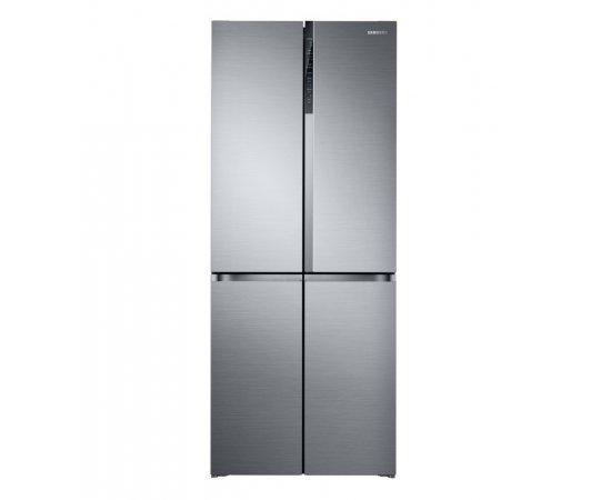 Americká chladnička Samsung RF50K5920S8/EO – pohľad spredu