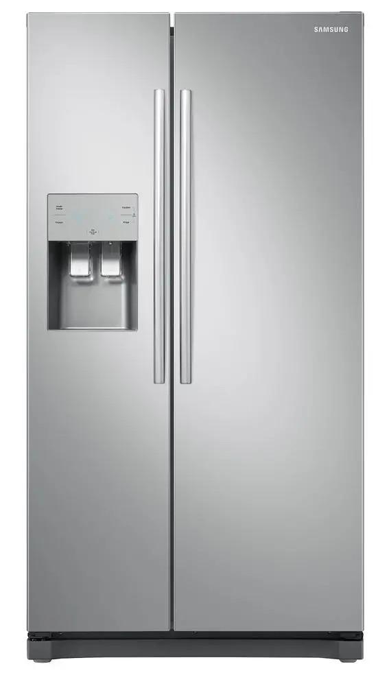 Americká chladnička Samsung RS54N3413SA/E0 – pohľad spredu