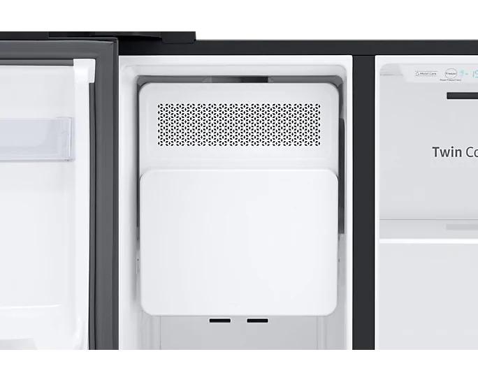 Americká chladnička Samsung RS67N8211B1 EF – výrobník ľadu v mraziacom priestore