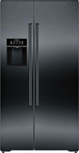 Americká chladnička Siemens KA92DHFXP – pohľad spredu