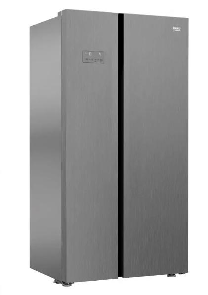 Americká chladnička BEKO GN 163120 ZXP – pohľad spredu