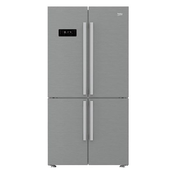 Americká chladnička BEKO 1416231 JX – pohľad spredu