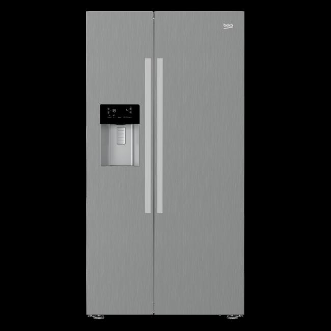 Americká chladnička BEKO GN 162330 LZXP – pohľad spredu
