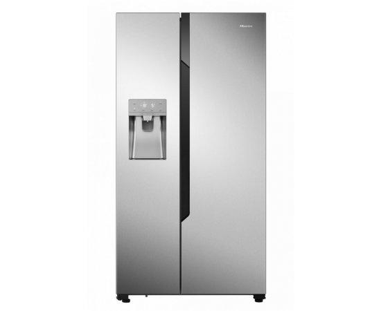Americká chladnička Hisense RS694N4TC2 – pohľad spredu