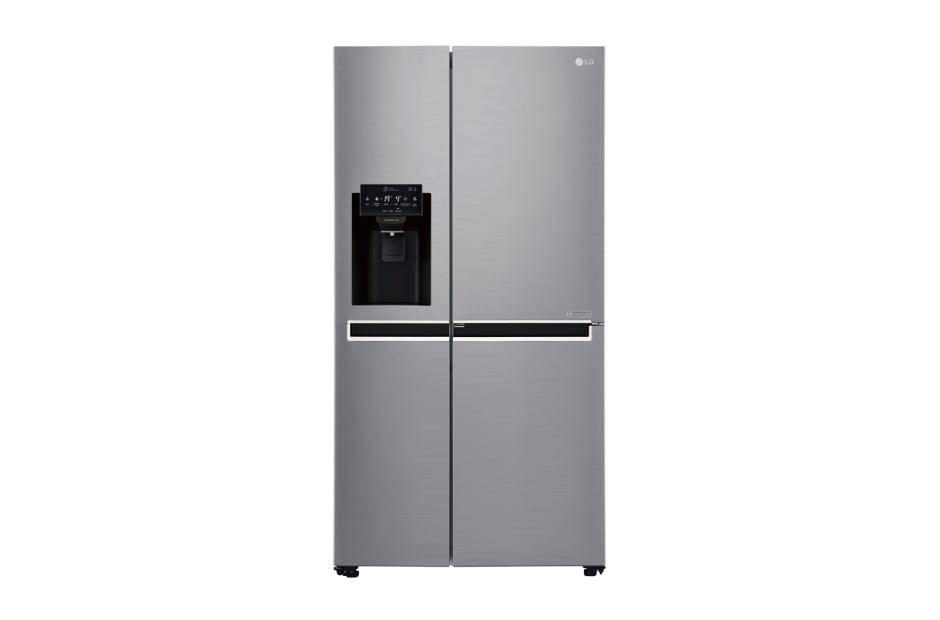 Americká chladnička LG GSJ 760 PZUZ – pohľad spredu