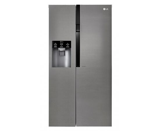Americká chladnička LG GSL 360 ICEV – pohľad spredu