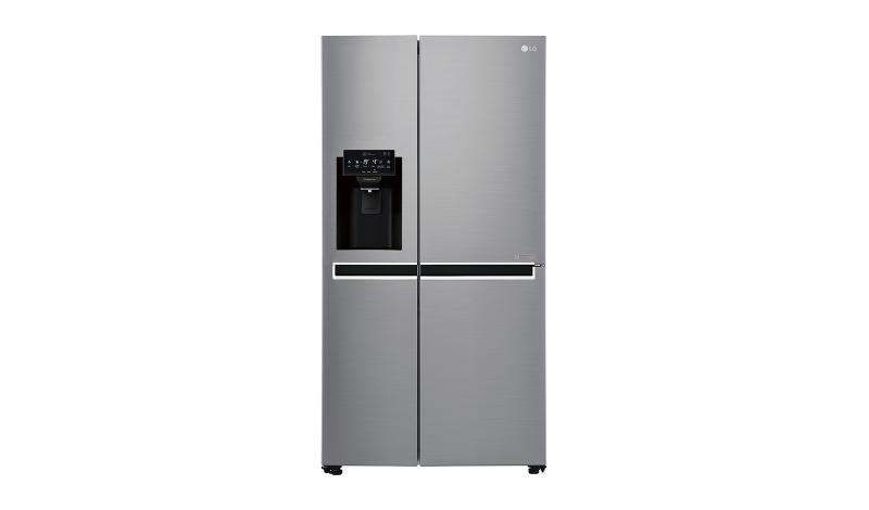 Americká chladnička LG GSL 471 ICEZ – pohľad spredu