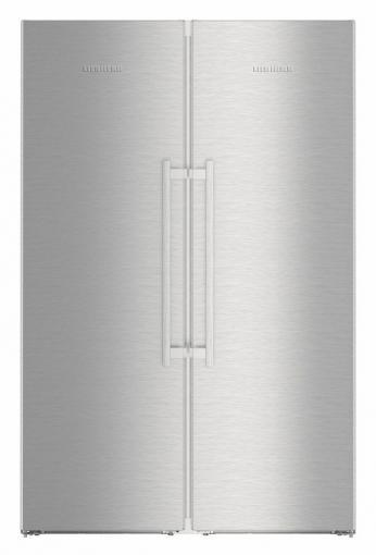 Americká chladnička LIEBHERR SBSes 8663 – pohľad spredu