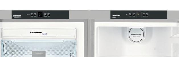 Americká chladnička Liebherr SBSesf 7212 – ovládacie panely