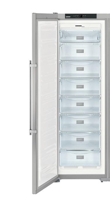 Americká chladnička Liebherr SBSesf 7212 – mraziaci priestor