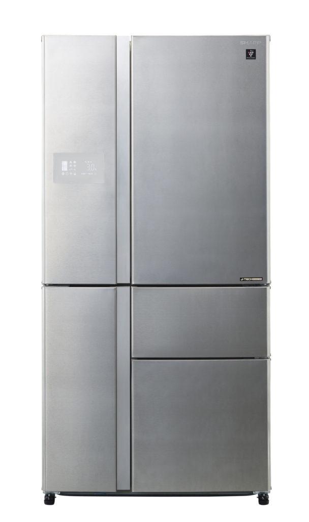 Americká chladnička SHARP SJPX 830 FSL – pohľad spredu