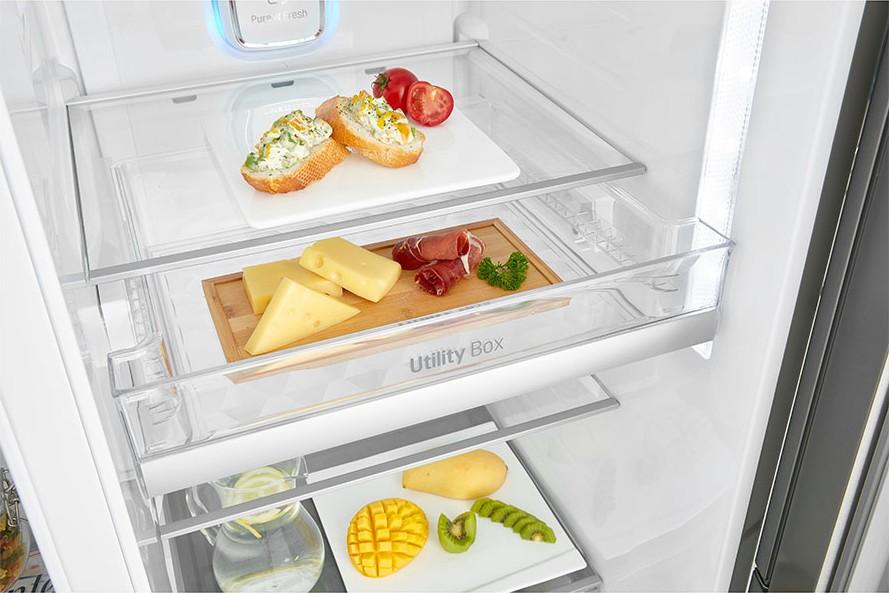 Americká chladnička LG GSJ960PZBZ – zásuvka Utility Box