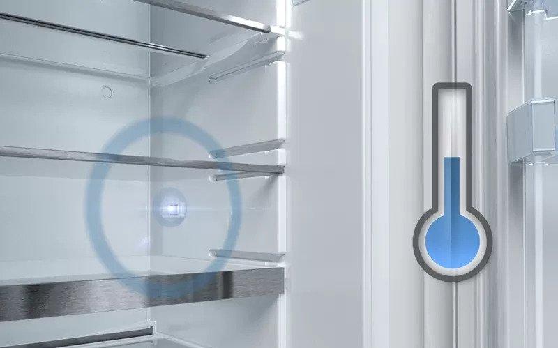 Americká chladnička BOSCH KAD90VI30 – senzor teploty Fresh Sense