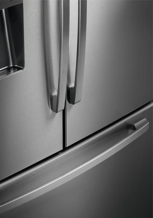 Americká chladnička Electrolux EN 6086 JOX – detail rukovätí