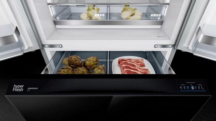 Americká chladnička Siemens KF86FPB2A – nulová zóna